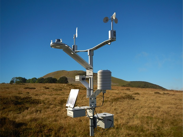 MiniMet Automatic Weather Station with solar power